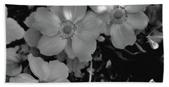 Faded Flowers Bath Towel
