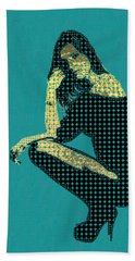 Fading Memories - The Golden Days No.2 Bath Towel by Serge Averbukh