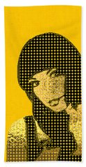 Fading Memories - The Golden Days No.3 Bath Towel by Serge Averbukh