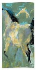 Fading Out To Three Hand Towel by Frances Marino