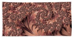 Bath Towel featuring the digital art Faerie Forest Floor I by Susan Maxwell Schmidt