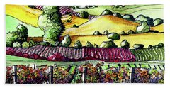 Fairfield Vineyards Hand Towel