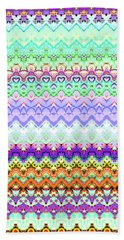 Fairisle Candy Bath Towel