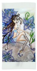 Fairy Blue Hand Towel