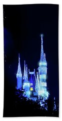 Hand Towel featuring the photograph Fairy Dust by Mark Andrew Thomas