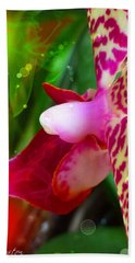 Fairy Orchid Hand Towel