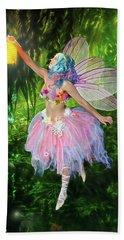 Fairy With Light Bath Towel