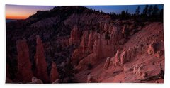 Bath Towel featuring the photograph Fairyland Canyon by Edgars Erglis