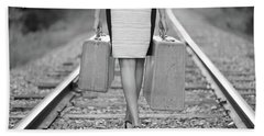 Hand Towel featuring the photograph Faith In Your Journey by Barbara West
