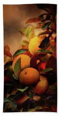Fall Apples A Living Still Life Bath Towel