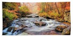 Fall At Gunstock Brook I Bath Towel