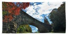 Fall Bridge Bath Towel