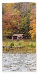 Fall Cabin Bath Towel
