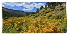 Fall Colors Come To Mt. Charleston Hand Towel