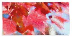 Fall Colors Hand Towel