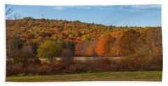 Fall Colors On Great Blue Hill Bath Towel