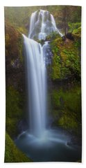 Hand Towel featuring the photograph Fall Creek Falls by Darren White