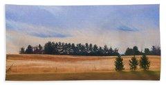 Fall Fields Of The Shenandoah Hand Towel by Kevin Blackburn