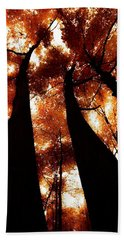 Autumn Canopy Abstract 2 Hand Towel
