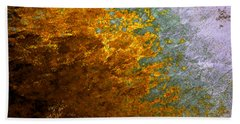 Bath Towel featuring the digital art Fall Foliage by John Krakora