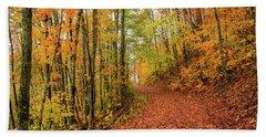 Fall Foliage Hand Towel