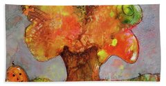 Fall Fun Bath Towel by Terry Honstead