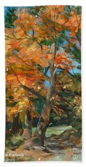 Fall Glory Hand Towel