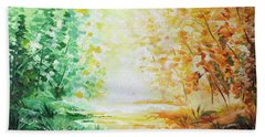 Fall Glow Hand Towel