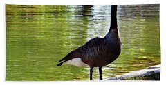 Fall Goose Bath Towel