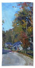 Fall In Glen Williams On Hand Towel