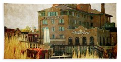 Fall In St Charles Hand Towel