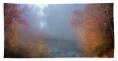 Fall In The Fog Bath Towel