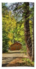 Fall In The Forest Hand Towel
