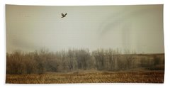 Fall In The Marsh Hand Towel