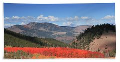 Fall In  Ute Trail  Hand Towel