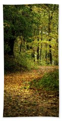 Fall Is Just Around The Corner Bath Towel