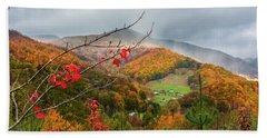 Fall Landscape Hand Towel