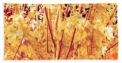 Fall Leaves #1 Hand Towel