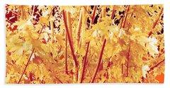 Fall Leaves #1 Bath Towel