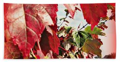 Fall Leaves #10 Hand Towel