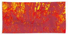 Fall Leaves #4 Hand Towel