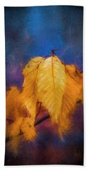 Fall Leaves Bath Towel