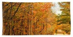 9012 - Fall On Murphy Lake II Bath Towel
