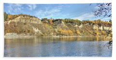 Fall On The River Hand Towel