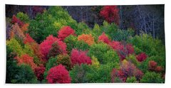 Fall Poppers Hand Towel