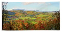 Fall Porch View Hand Towel