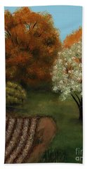 Fall Rendezvous Hand Towel
