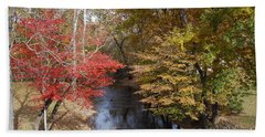 Fall Transition Bath Towel by Eric Liller