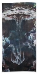 Hand Towel featuring the painting Fallen 2 by Cheryl Pettigrew