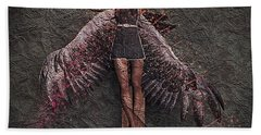Fallen Angel #2 Bath Towel